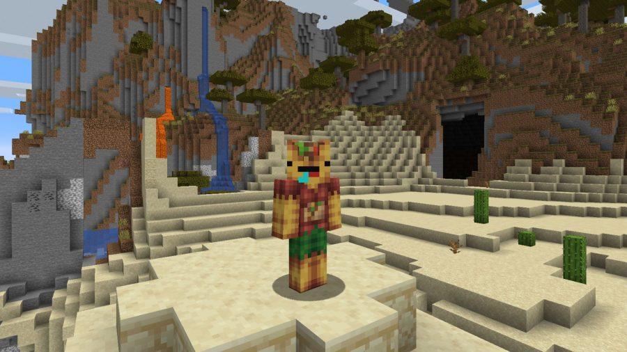Minecraft skins zombie taco
