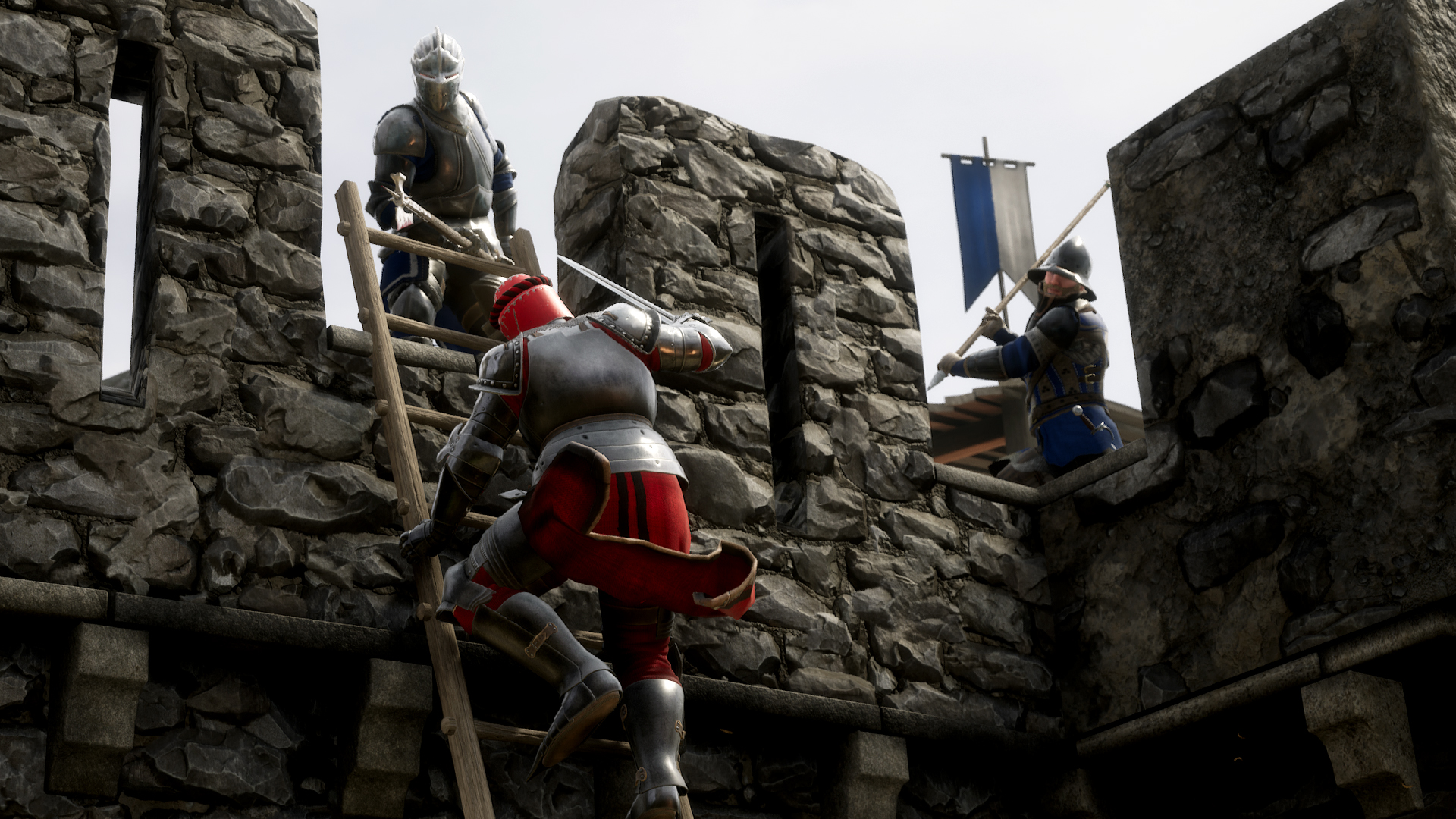 Mordhau now has an experimental ranked mode for duels