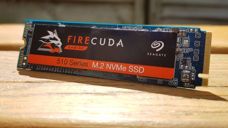 The Seagate Firecuda 510 NVMe solid state drive