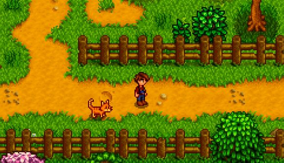This Stardew Valley mod lets you play fetch with your pets