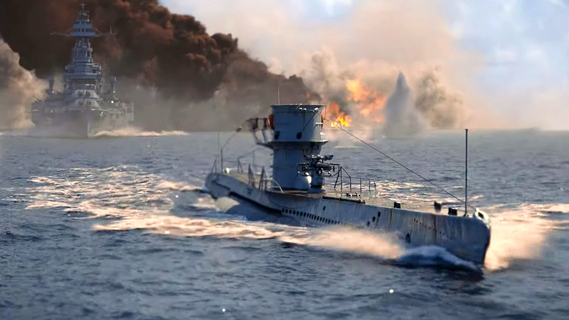 Submarines Are Coming To World Of Warships And Made Me Relearn