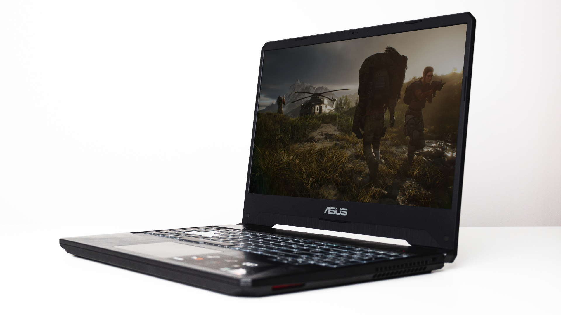 Asus TUF FX505DV review: Nvidia and AMD GPUs in all the right places