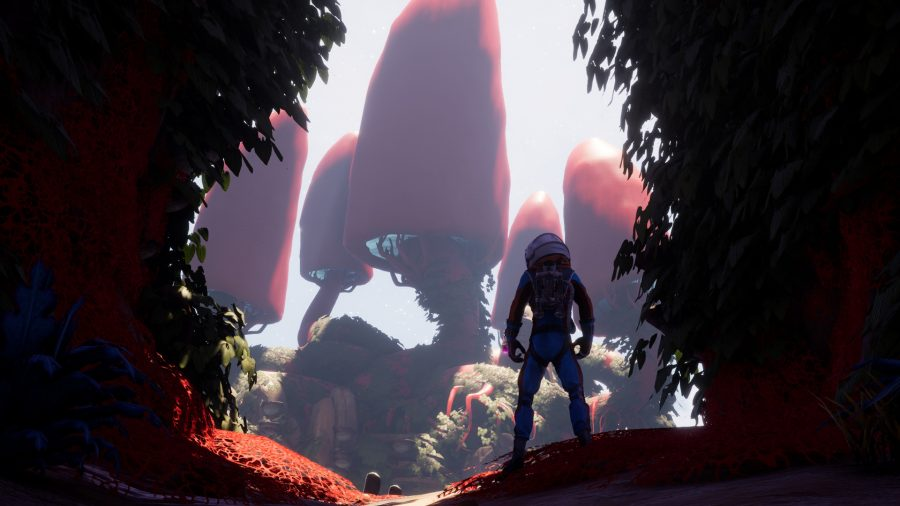 Journey to the Savage Planet is the comedy Metroid Prime I