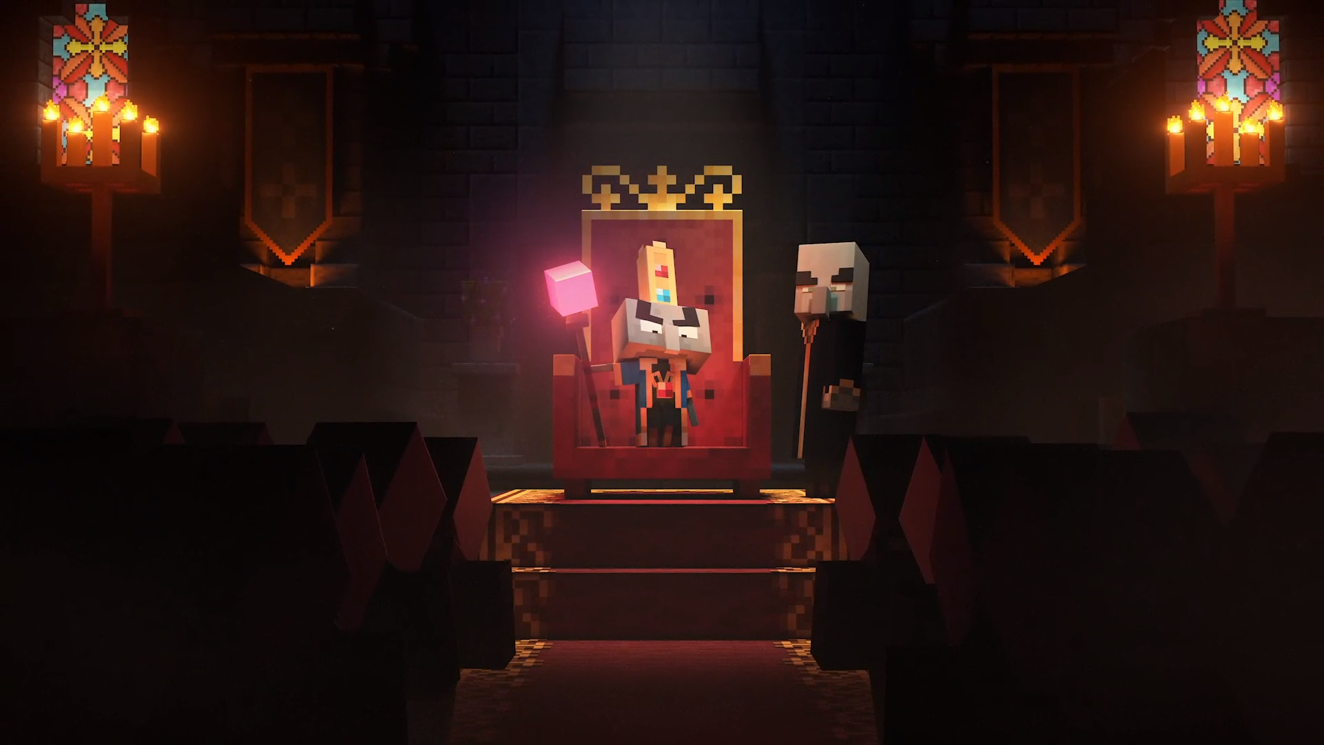 Minecraft Dungeons has spells, tons of loot, and battle llamas