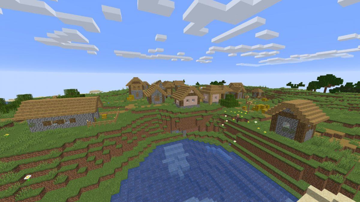 Minecraft Village Guide How To Find A Village In Minecraft Pcgamesn
