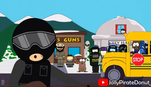 Someone remade the South Park intro with Rainbow Six Siege
