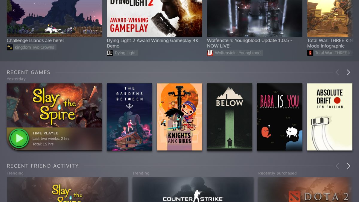 The new Steam Library is now in public beta – here's how to join