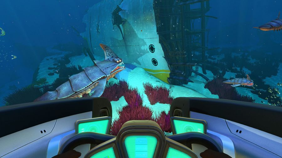 Subnautica best submarine games
