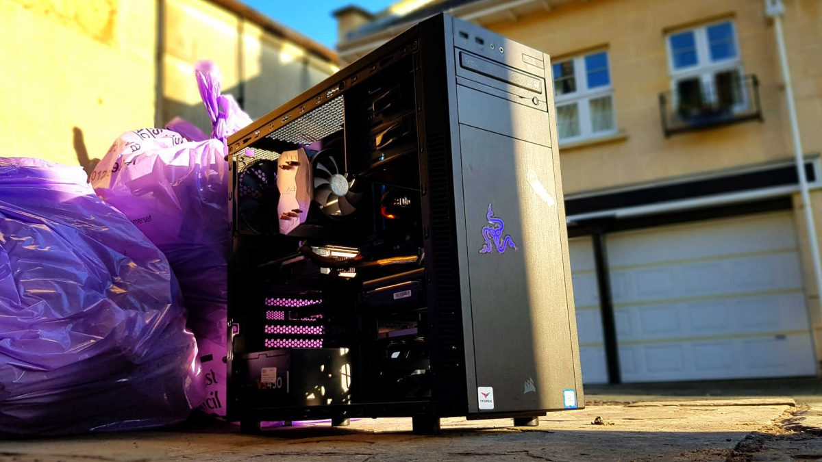Wreck Spec – proof a geriatric gaming PC can hit 60fps in all the latest games