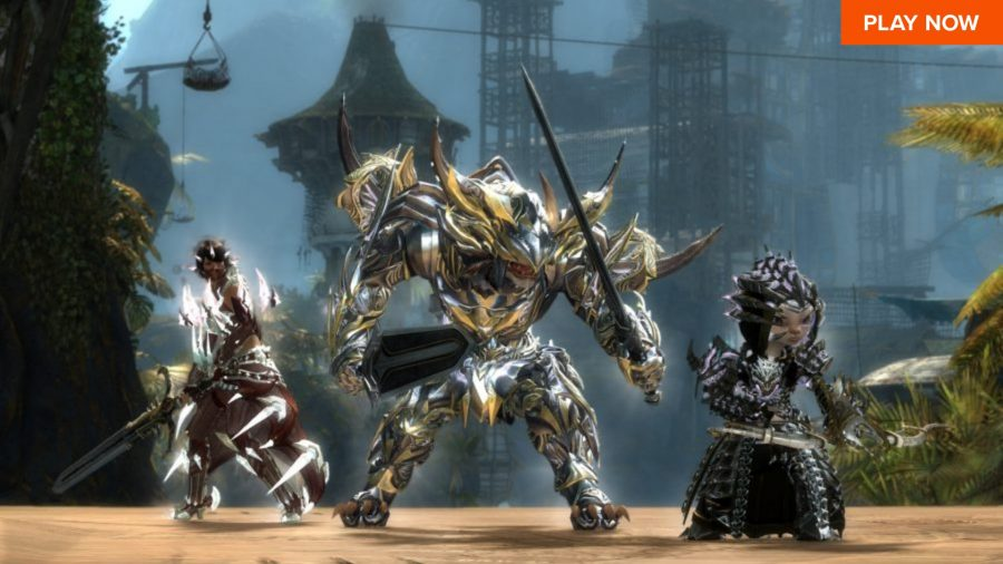 One of the best free PC games, Guild Wars 2
