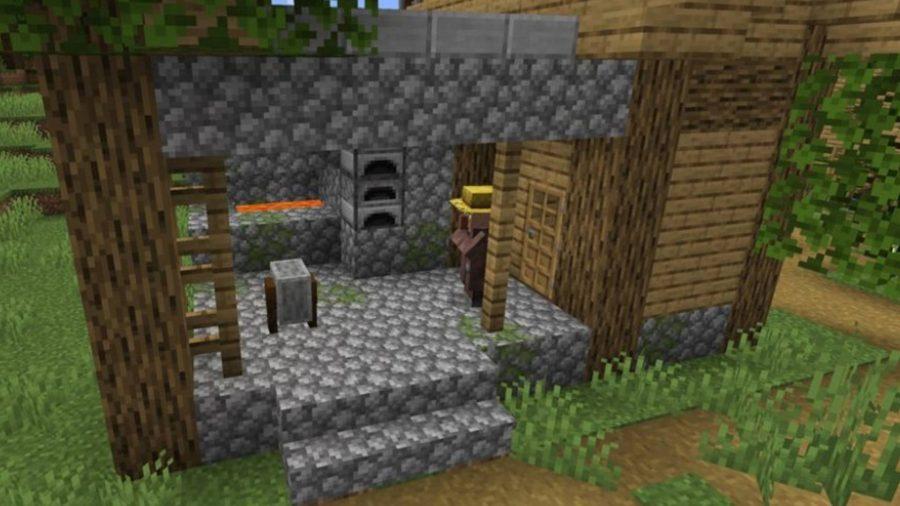 Minecraft anvil, iron ingot