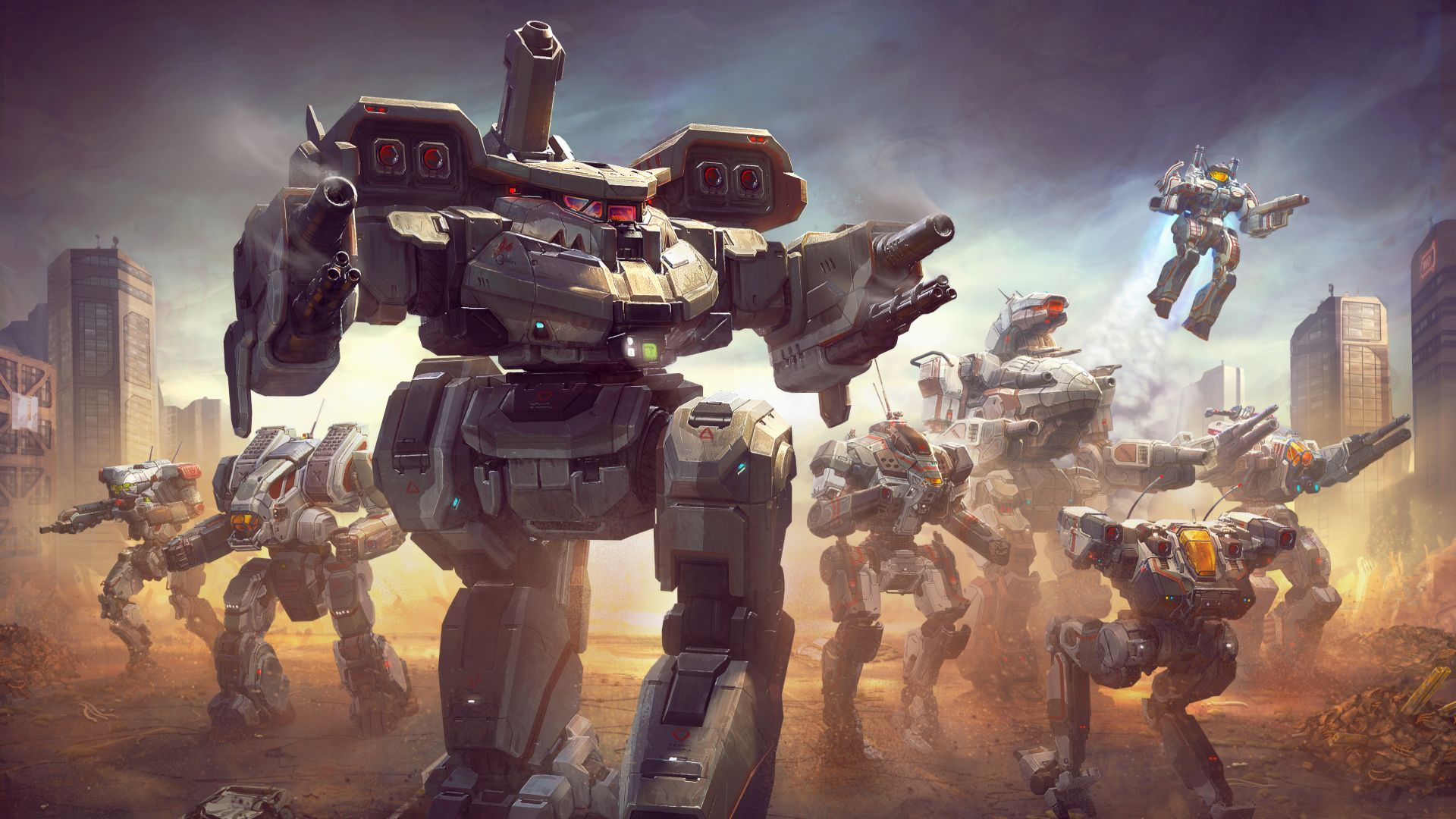 Battletech is getting mod support and a mech that's new to the entire IP