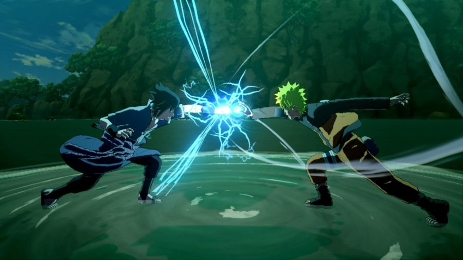 Naruto and Sasuke clash in of the best anime games on PC, Naruto Shippuden: Ultimate Ninja Storm 3 Full Burst