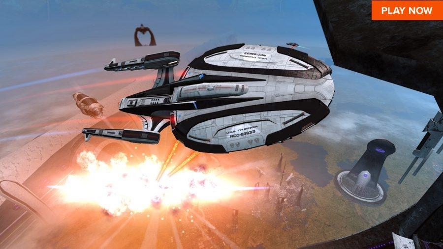 One of the best space games, Star Trek Online