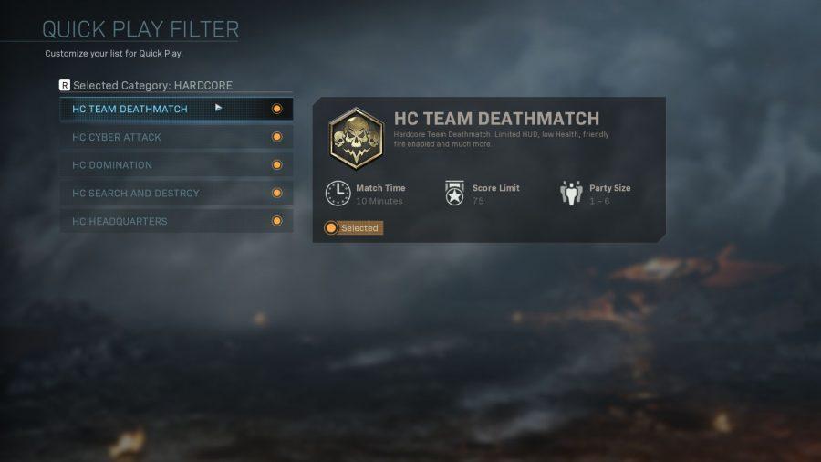 Call of Duty avanzata Warfare PC matchmaking