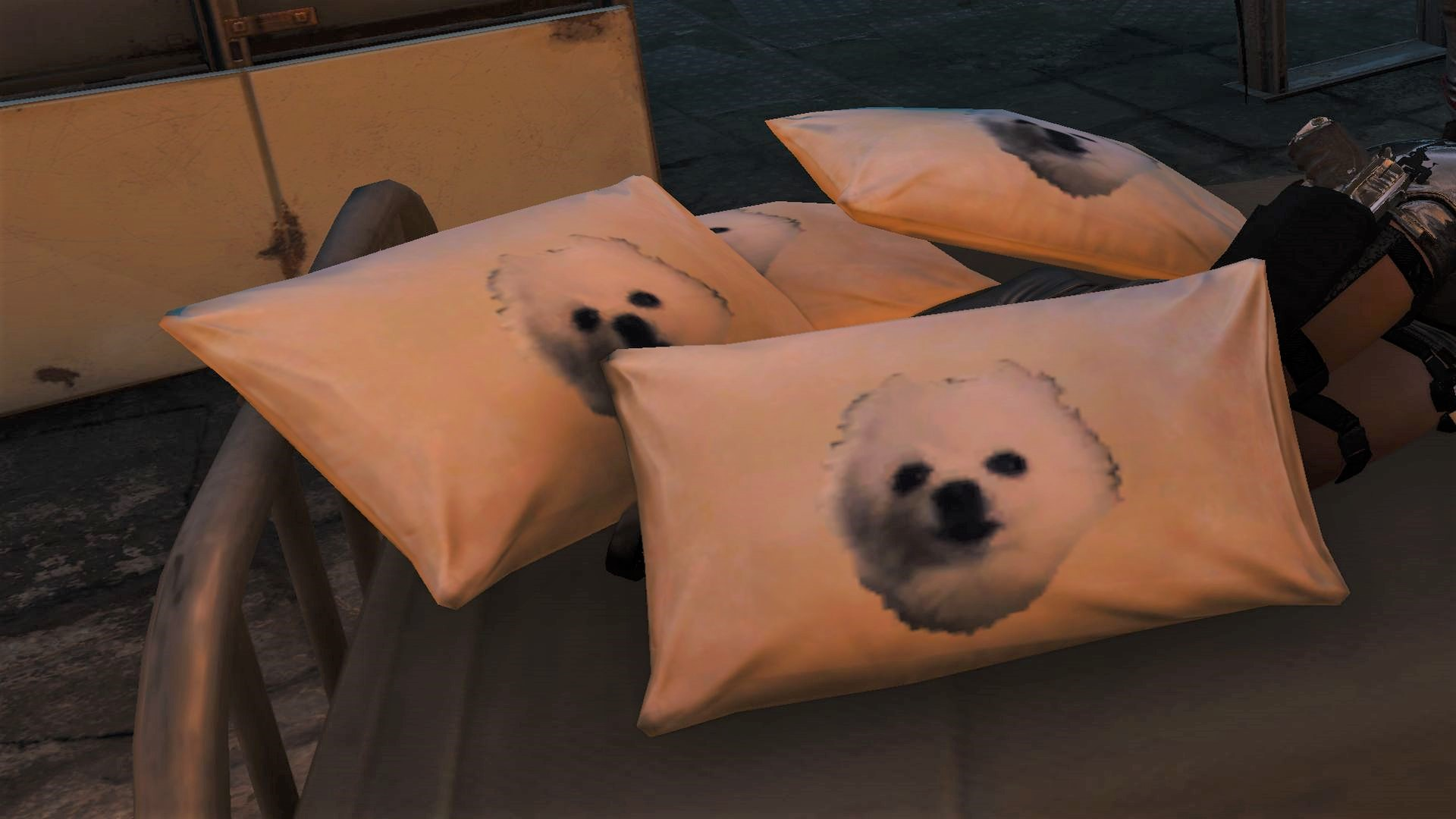 Remember Gabe the Dog? This Fallout 4 mod turns him into comfy pillows