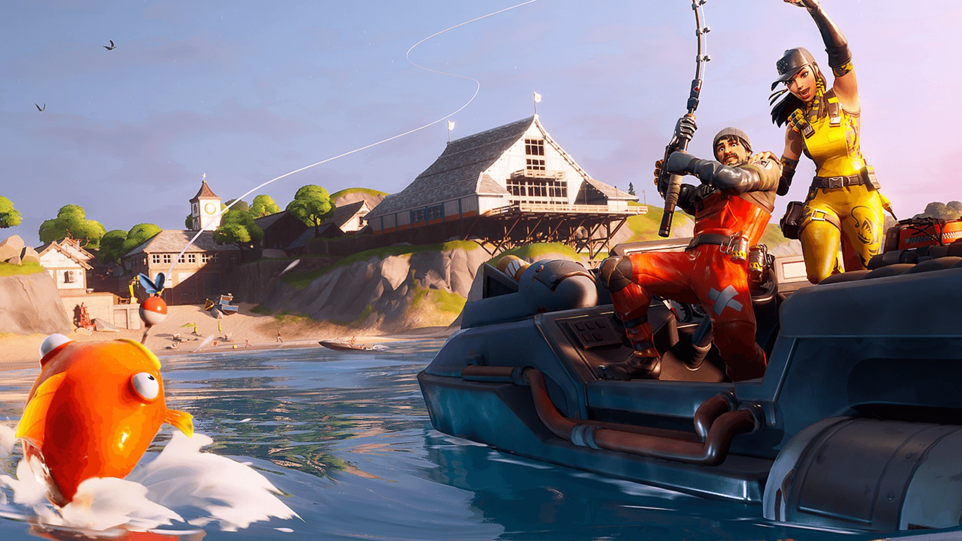 Fortnite: Boat Launch, Coral Cove, and Flopper Pond locations