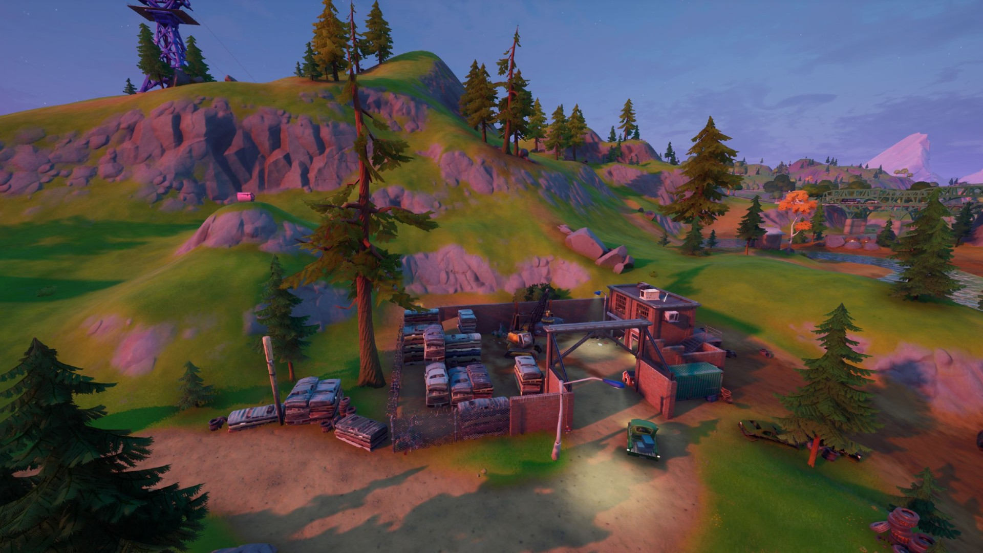 Fortnite Compact Cars Where To Dance To Finish This Week S Battle Pass Mission Pcgamesn