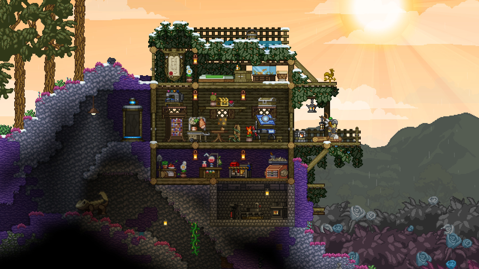 Games Like Minecraft Free And Full Price Alternatives To The Blocky Survival Classic Pcgamesn