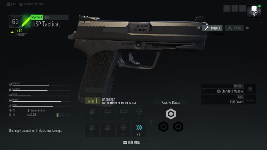 Image result for Ghost Recon Breakpoint USP