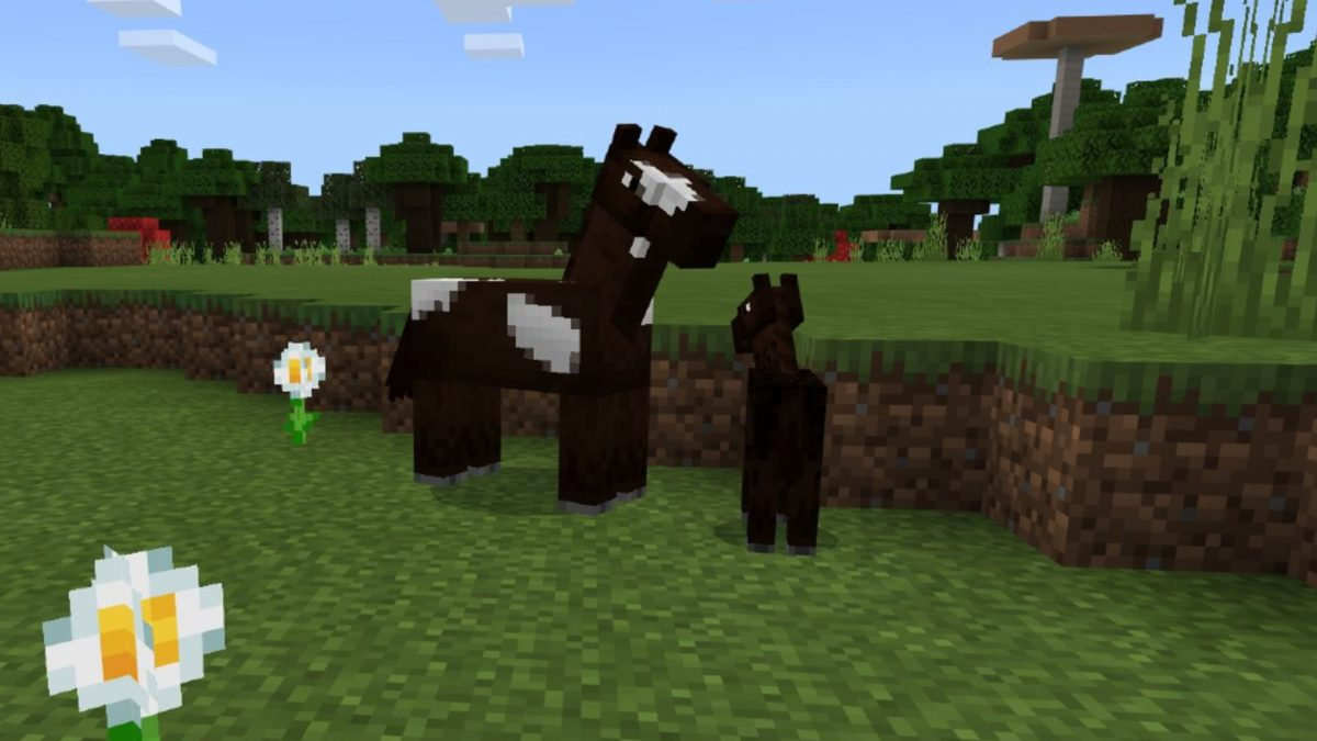 Minecraft Horses How To Tame A Horse In Minecraft Pcgamesn