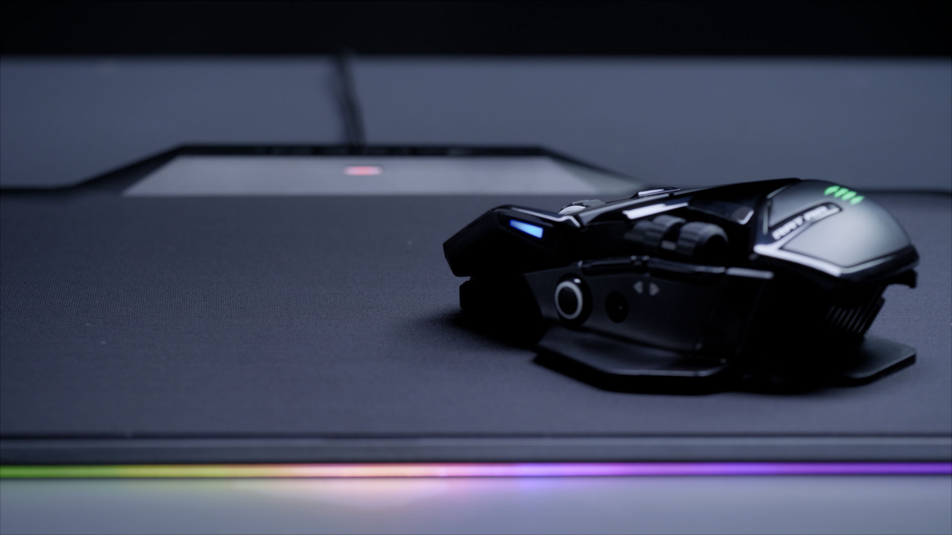MadCatz takes on Logitech PowerPlay with the R.A.T AIR wireless gaming mouse