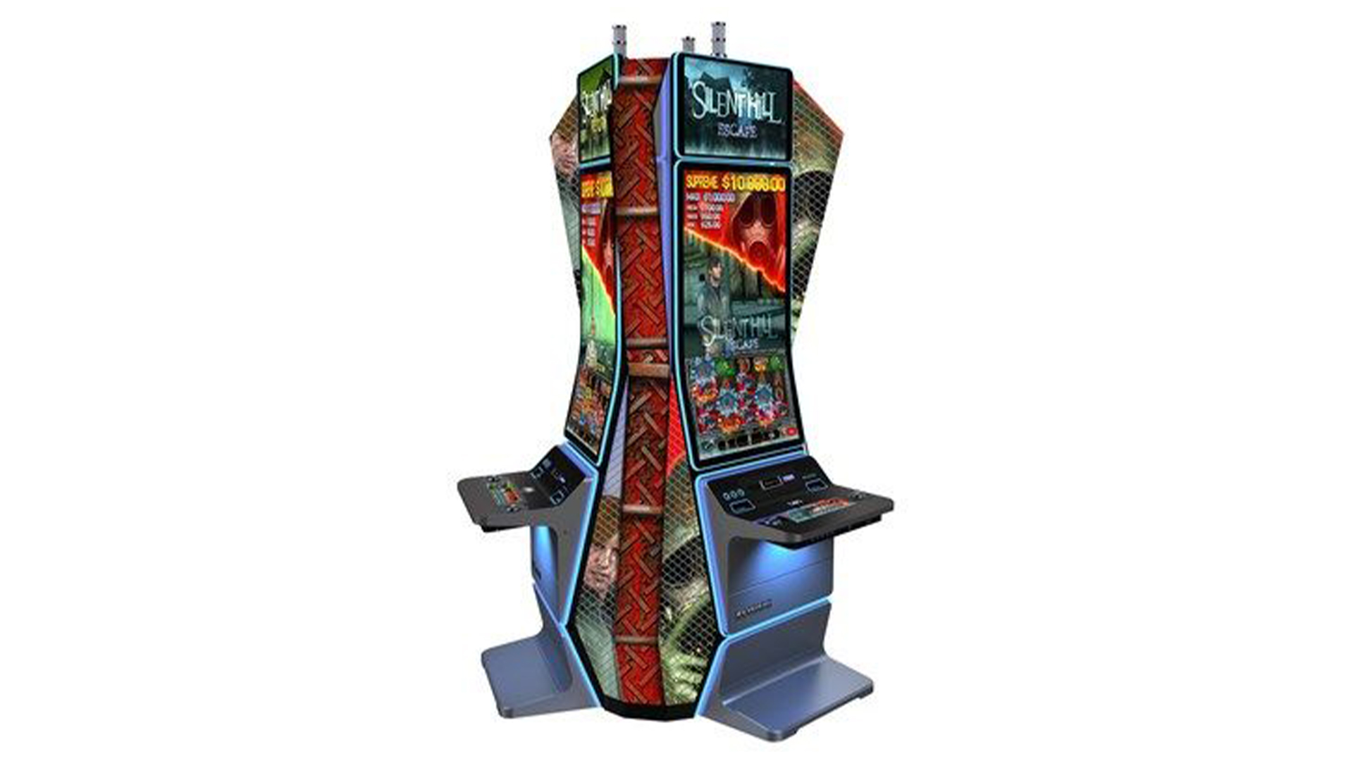 Reality is now content to parody itself, so Konami announces a Silent Hill slot machine
