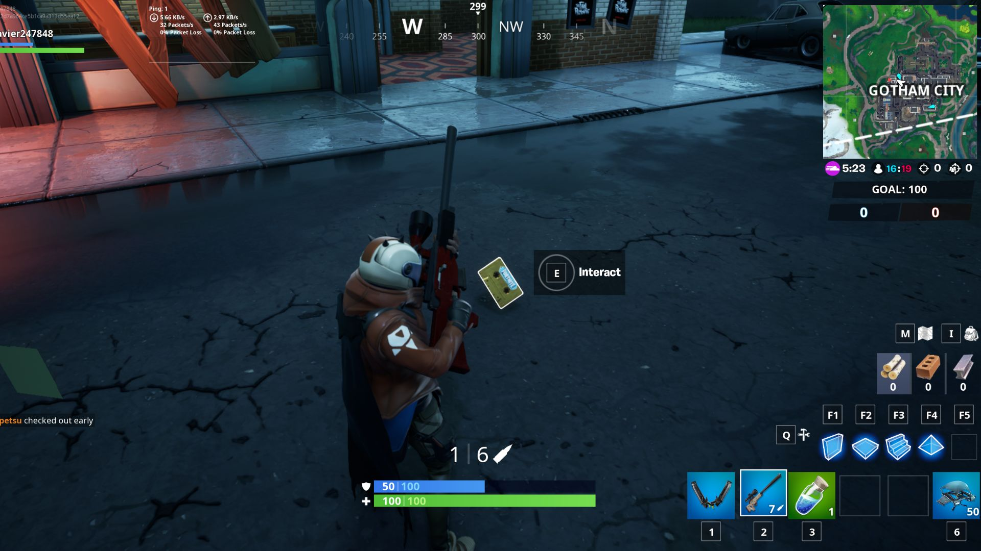 Fortnite Visitor Recordings Starry Suburbs Gotham City