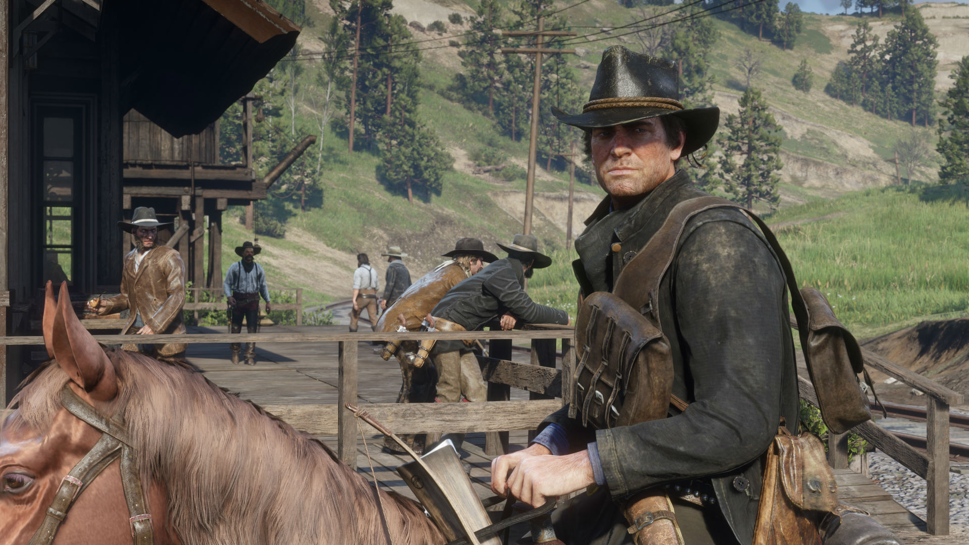 Red Dead Redemption 2 Update Fixes Hungry Arthur Issue Pcgamesn