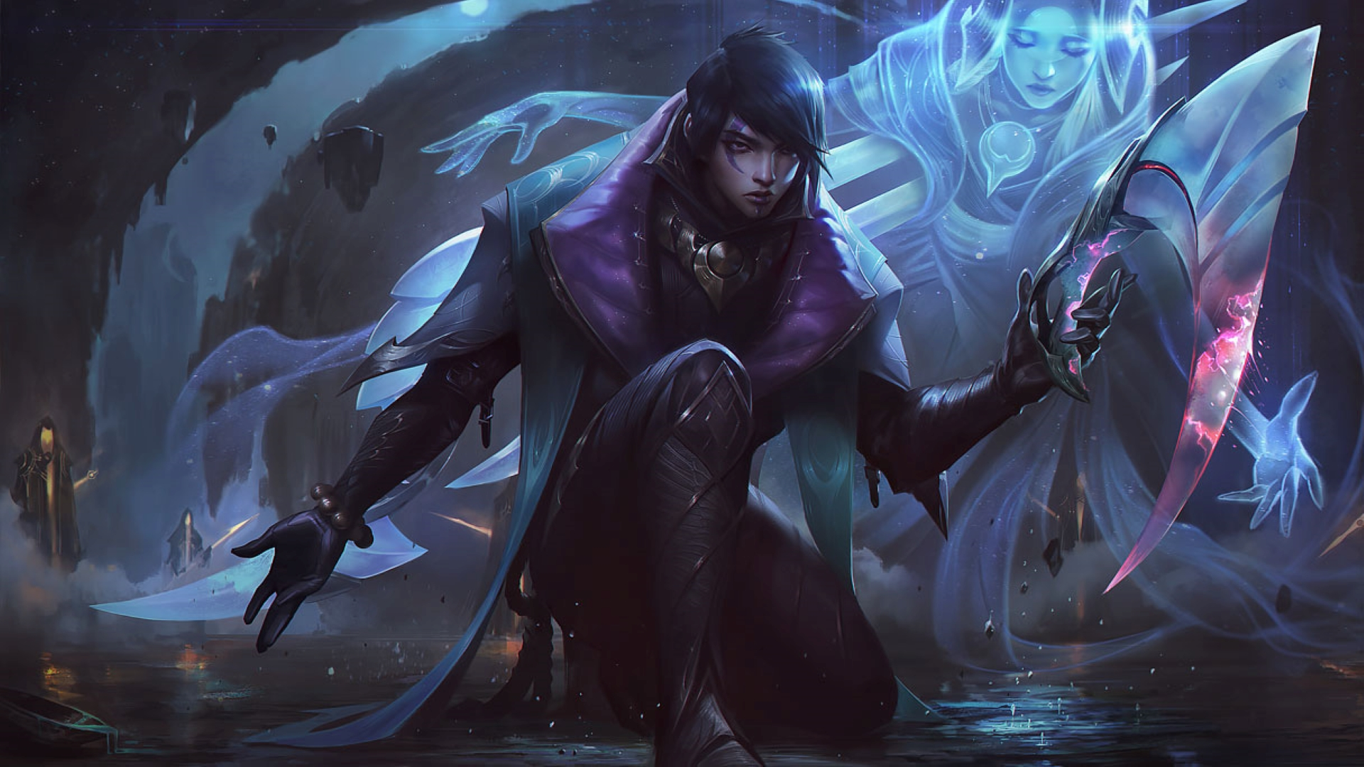 """League of Legends champion Aphelios took """"well over a year"""" to create"""