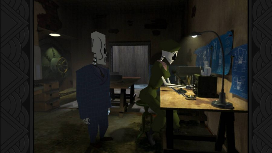 Detective games grim fandango