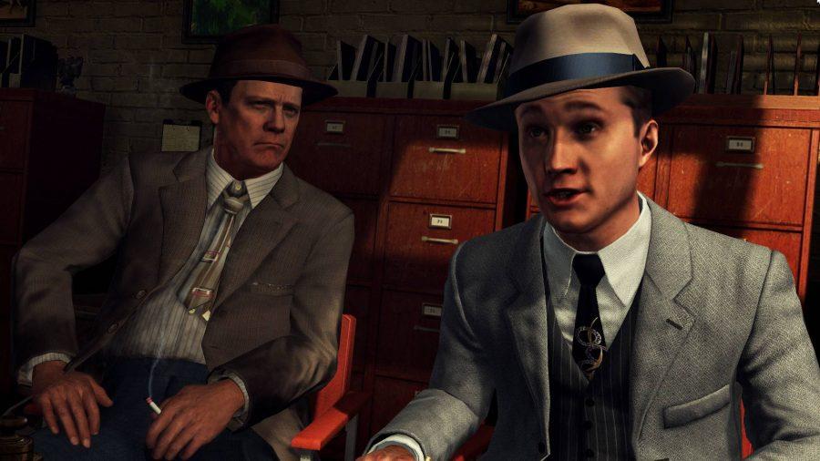 Detective games, no fire