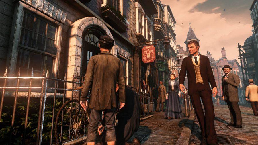 Detective games Sherlock Holmes