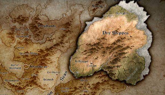 Diablo 4 zemljevid