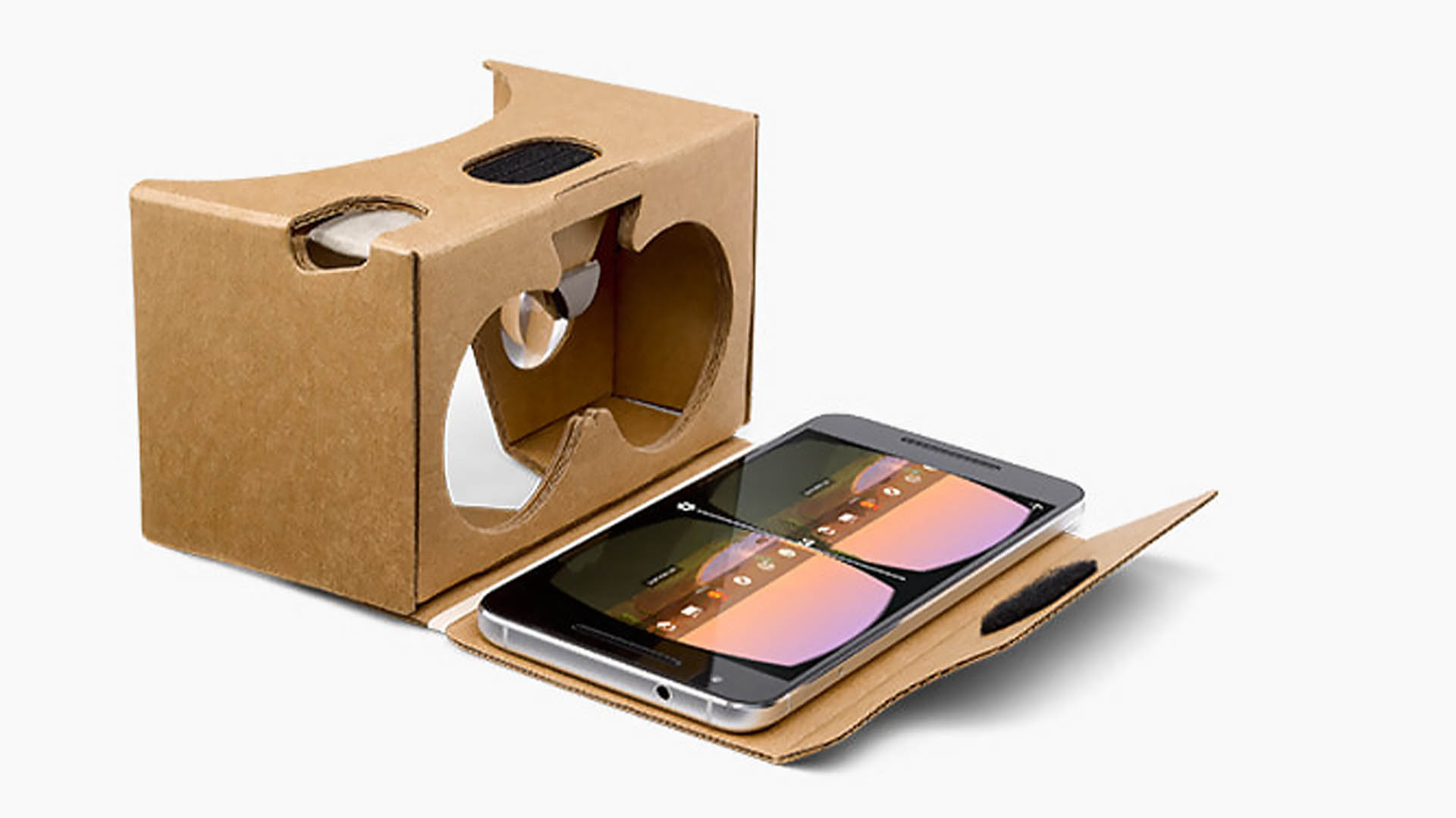 Google's no longer selling Cardboard VR headsets, but you can still make your own