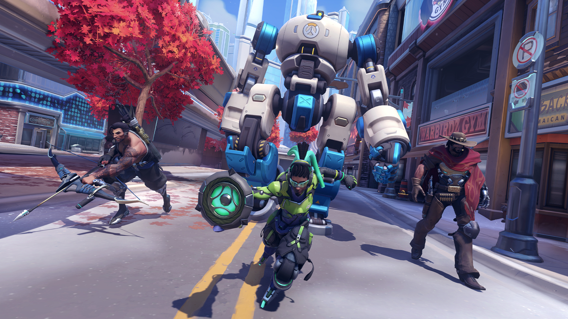 Here's how Overwatch 2's Push mode works