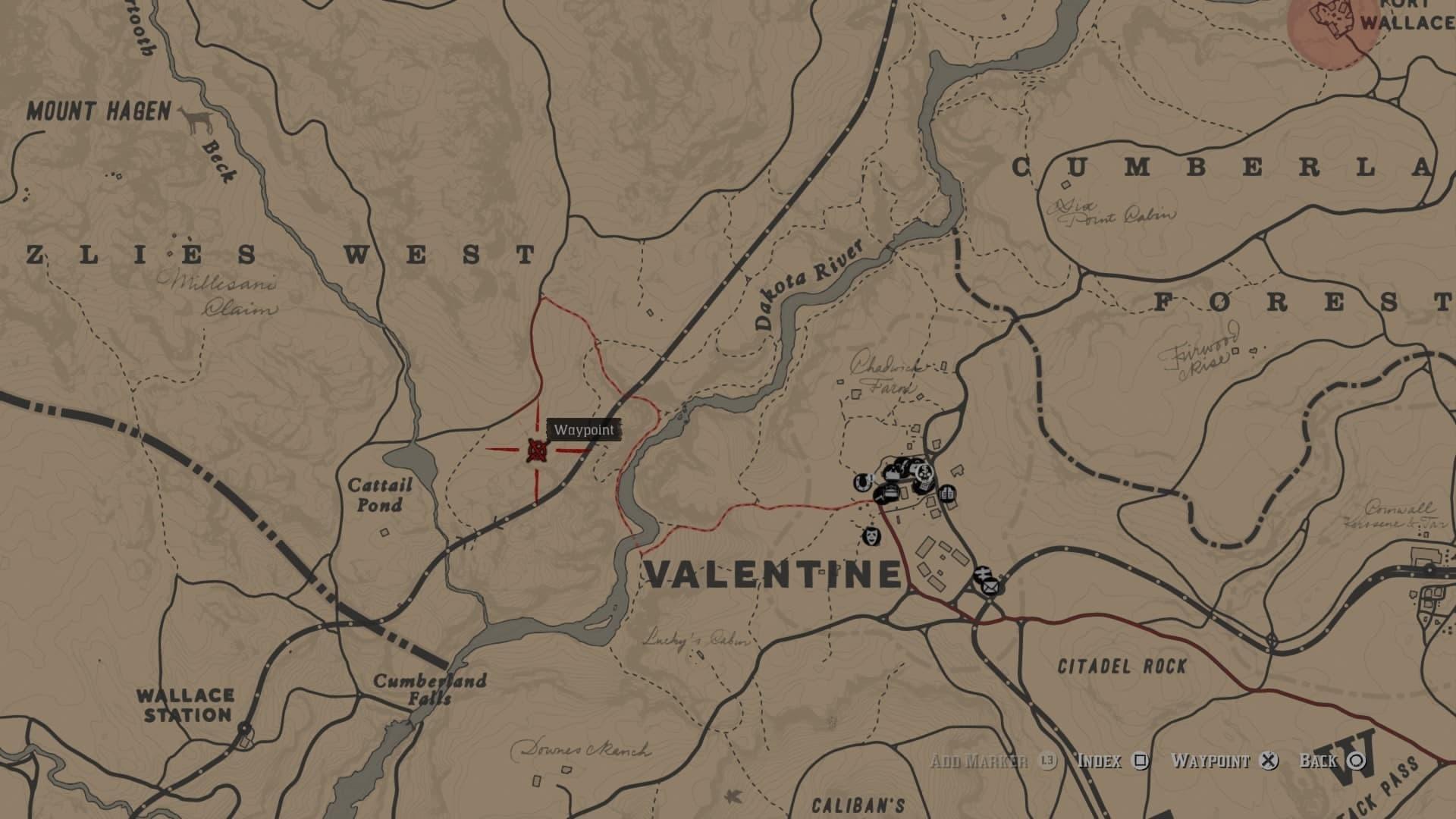 Red Dead Redemption 2 Map Cotorra Springs Rdr2 Legendary