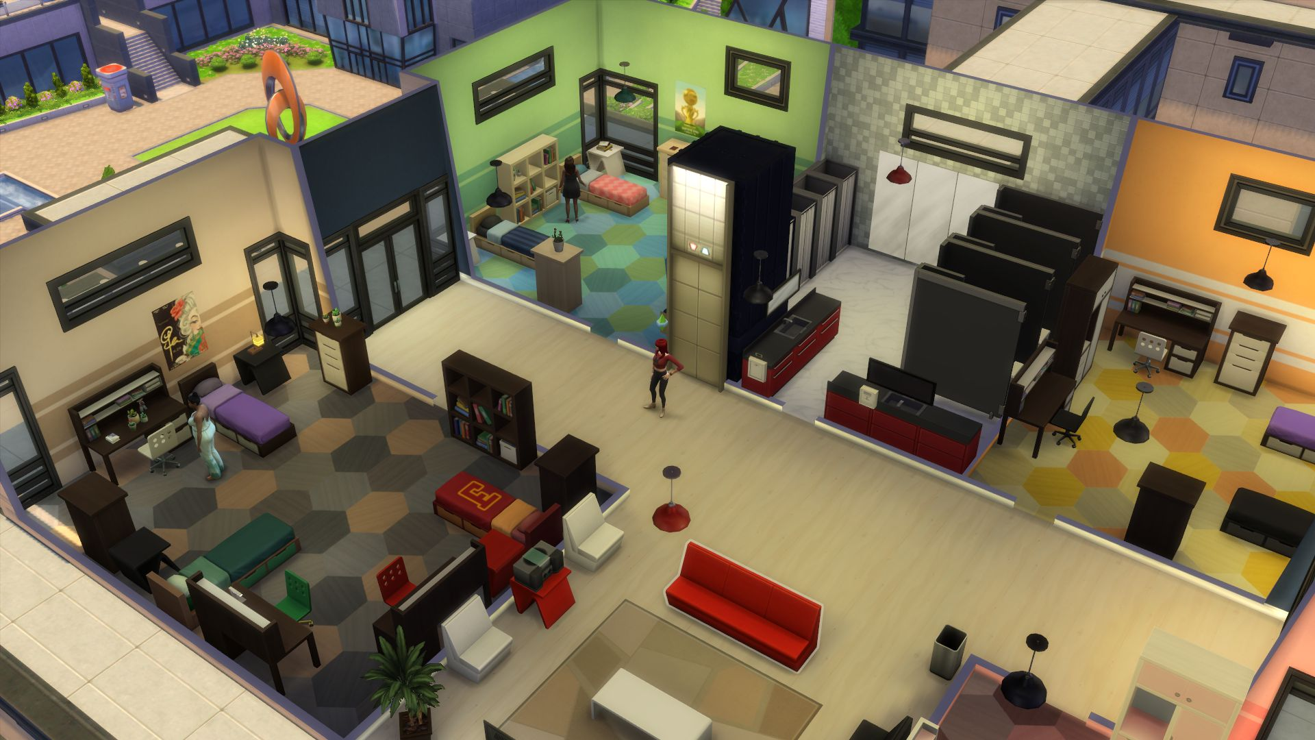 The Sims 4 Discover University Is The Best And Worst Of College Life Pcgamesn