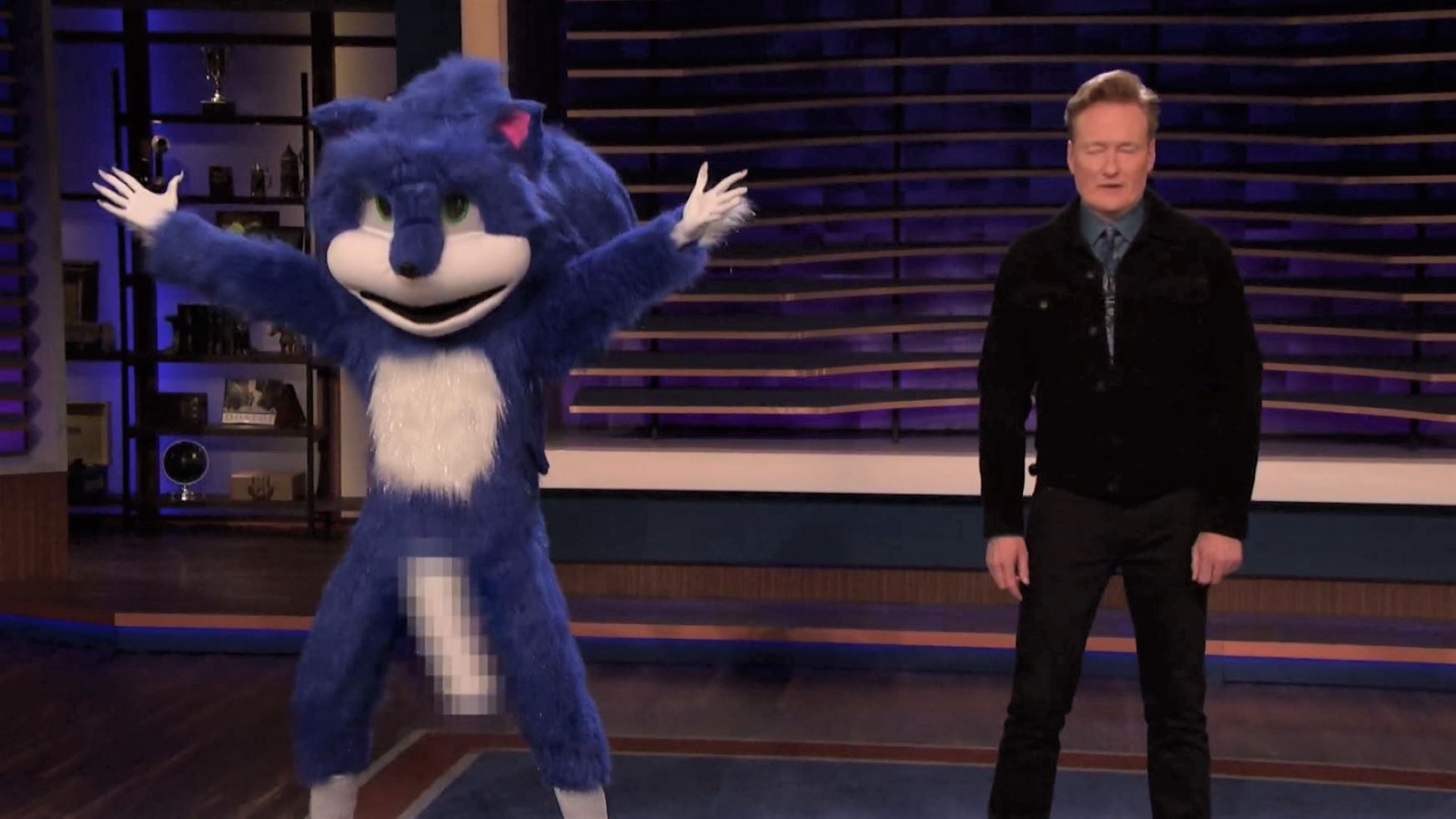 Conan S New And Improved Sonic Redesigns More Than Just His Teeth Pcgamesn