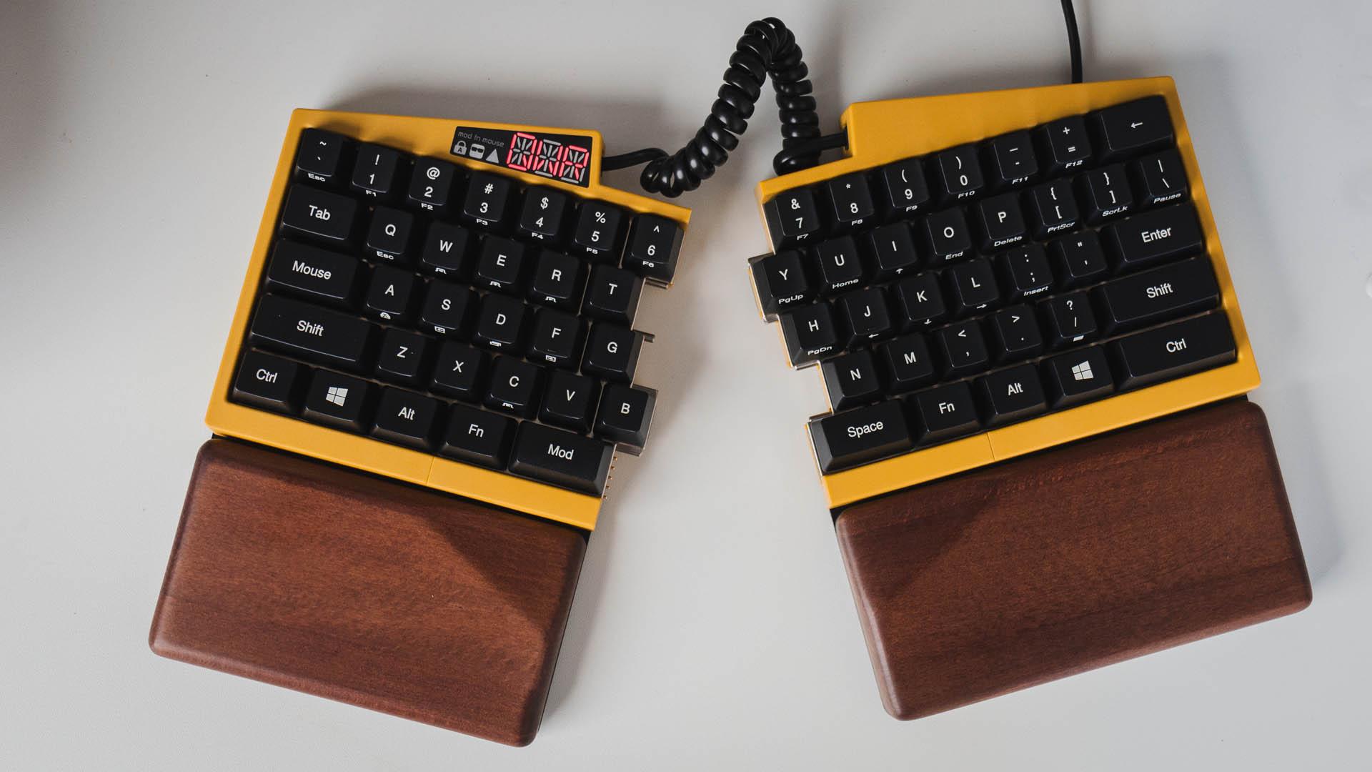 Ultimate Hacking Keyboard Review A Desktop Swiss Army