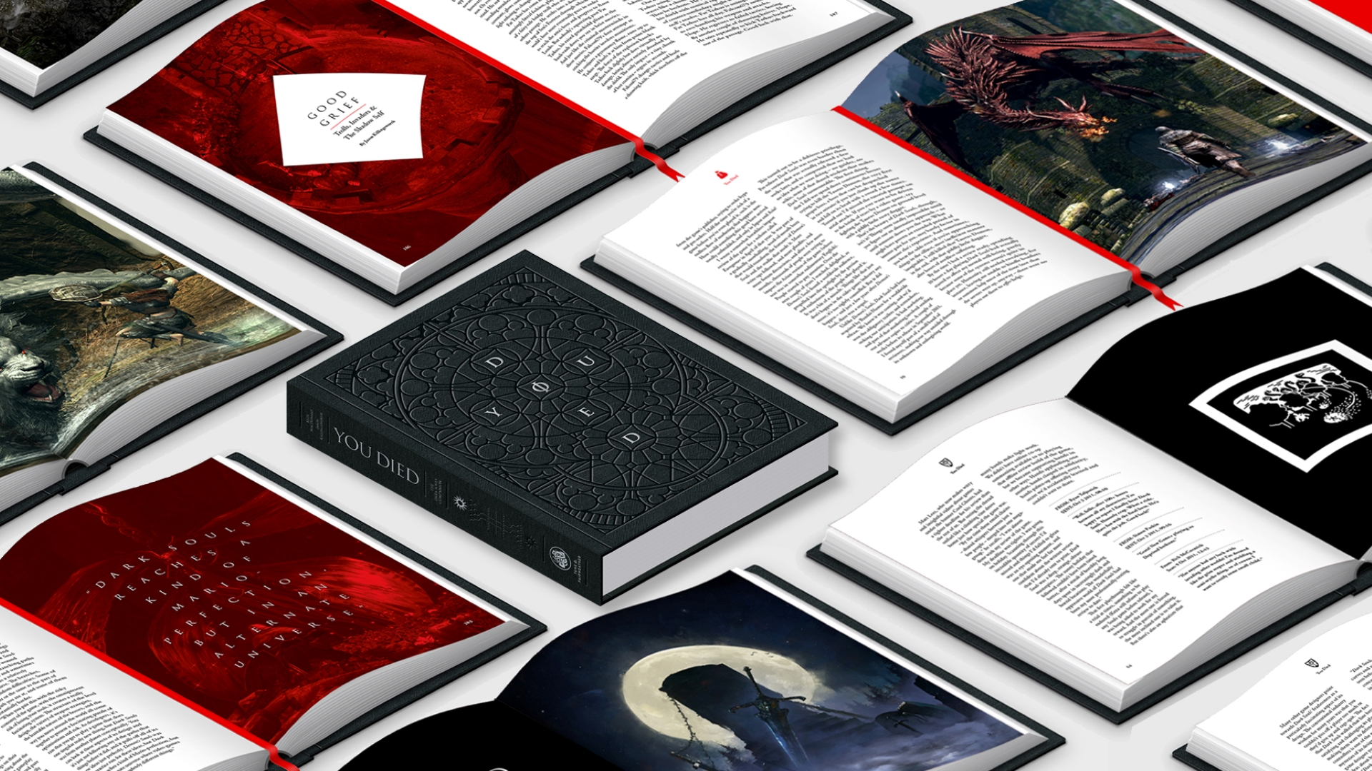 Kickstarter campaign for deluxe hardcover Dark Souls book You Died goes live