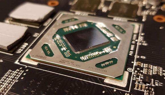 AMD Navi 14 Made in Taiwan