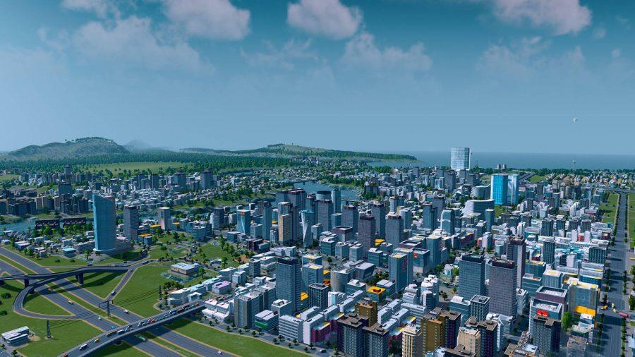 thành phố-xây dựng-trò chơi-thành phố-đường chân trời