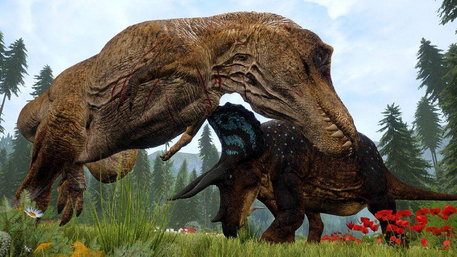 Dinosaur games The Isle