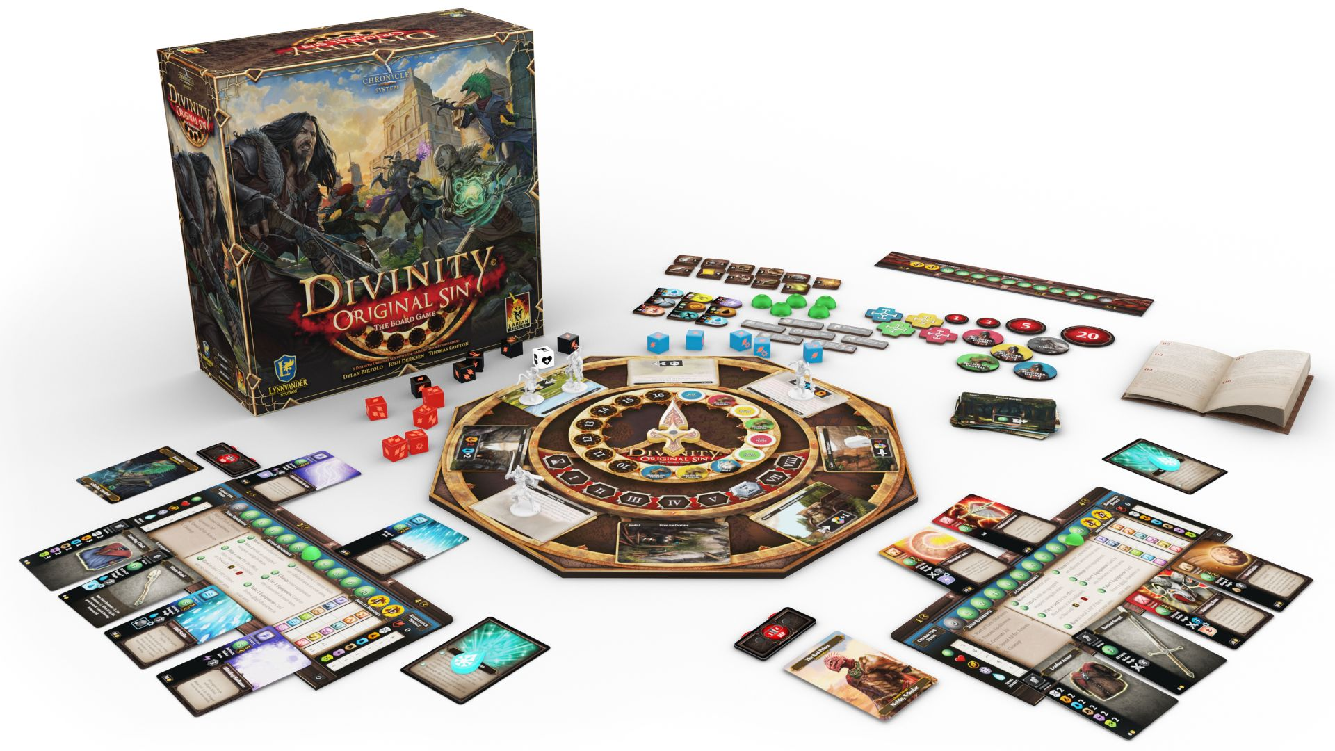 The Divinity: Original Sin board game is wonderfully familiar