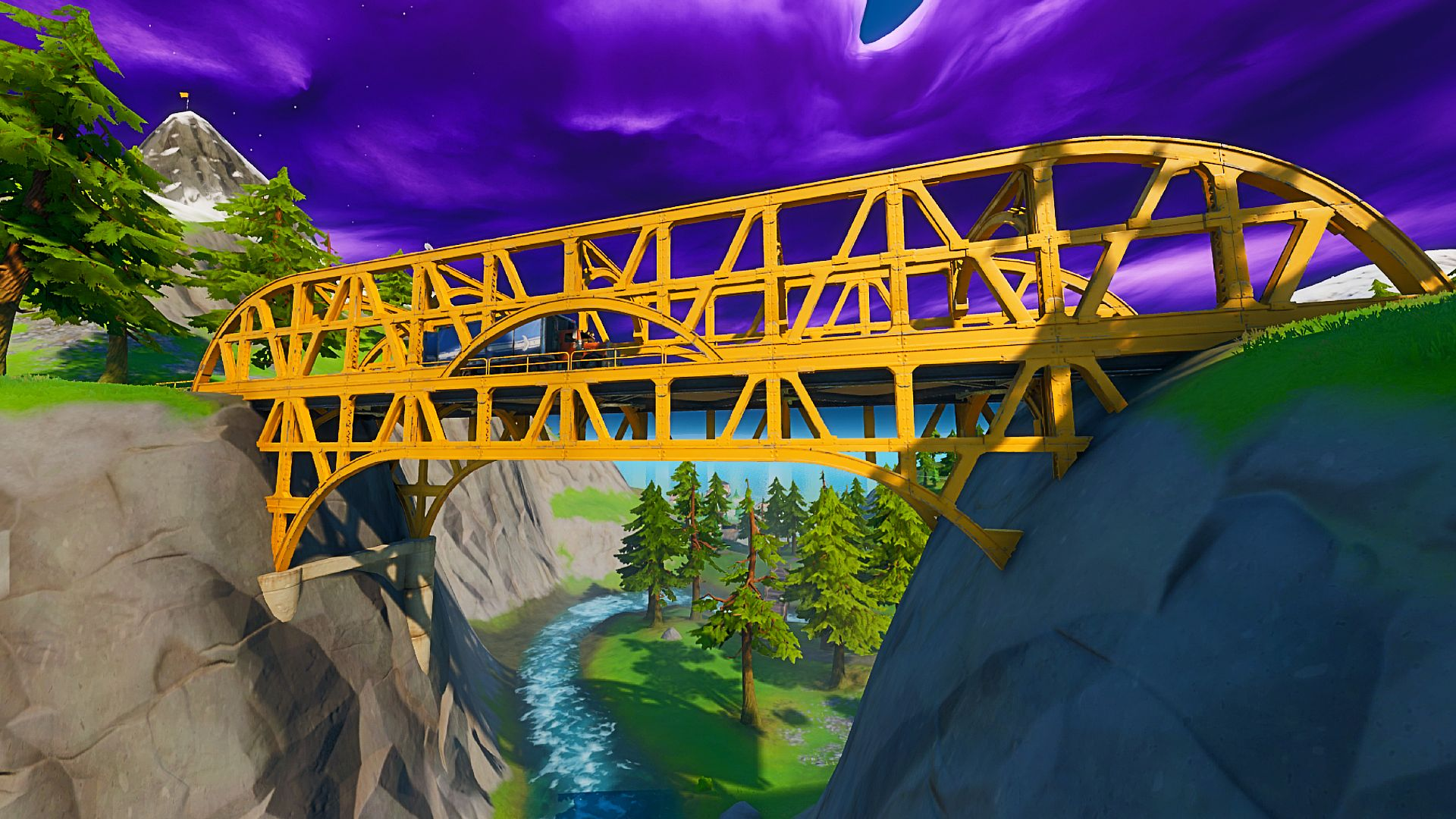 Fortnite steel bridges: where to dance at a green, red ...