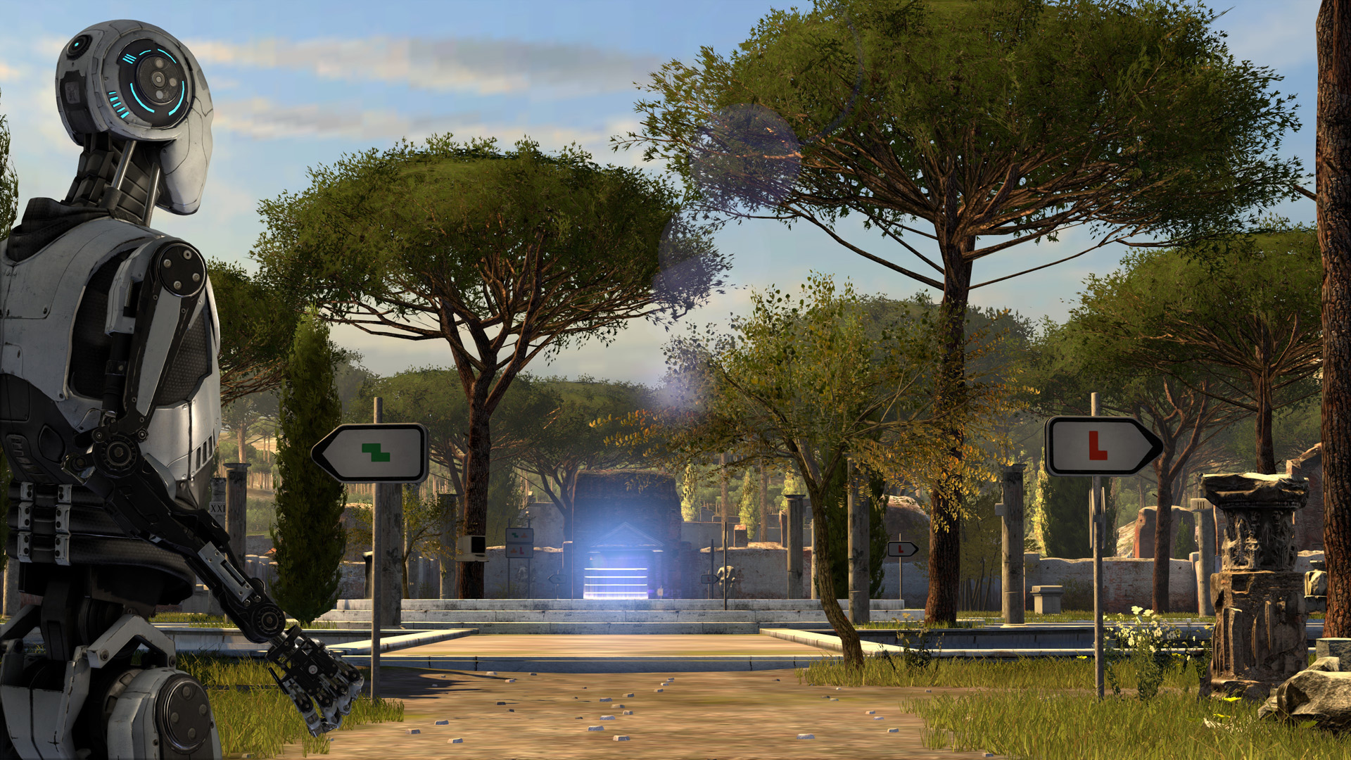The Talos Principle is free on the Epic Games store for a few more hours