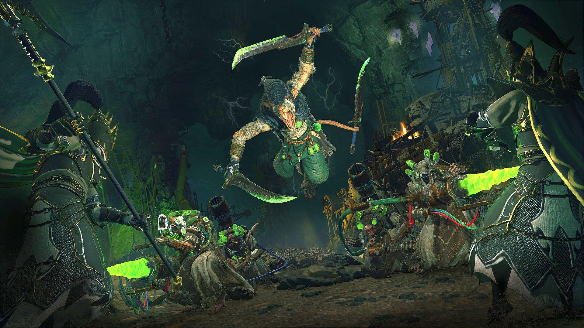 The Balletic Bloodshed Of Total War Warhammers Deathmaster