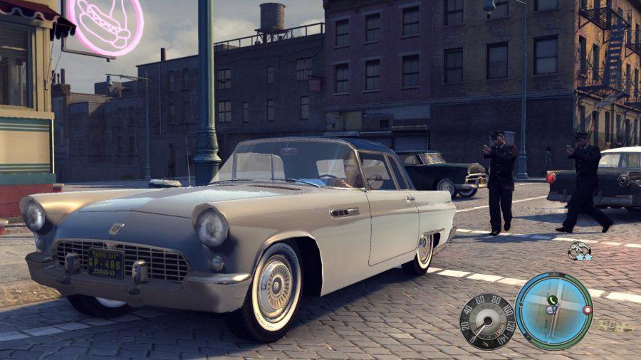 A car from Mafia 2