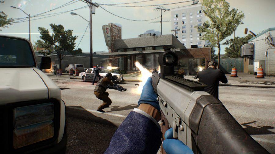 Payday 2 gun